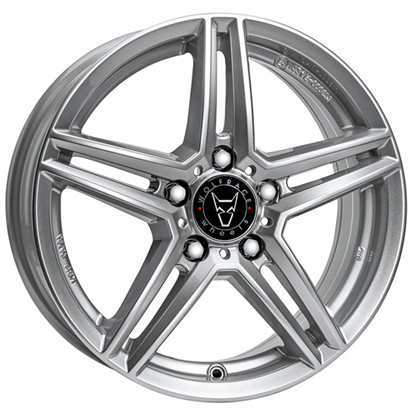 "17"" Wolfrace M10 Polar Silver Alloy Wheels"