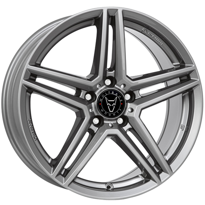 "16"" Wolfrace M10 Gun Metal Alloy Wheels"