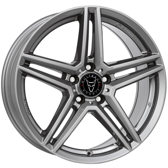 "19"" Wolfrace M10 Gun Metal Alloy Wheels"