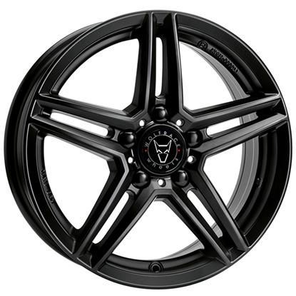 "19"" Wolfrace M10 Satin Black Alloy Wheels"