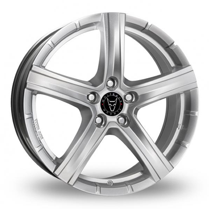 "19"" Wolfrace Quinto Polar Silver Alloy Wheels"