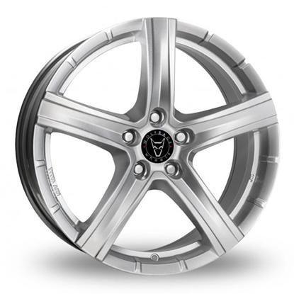 "20"" Wolfrace Quinto Polar Silver Alloy Wheels"