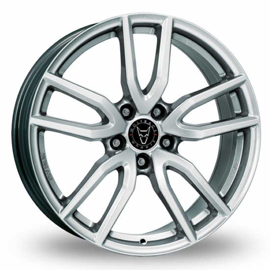 "17"" Wolfrace Torino Polar Silver Alloy Wheels"