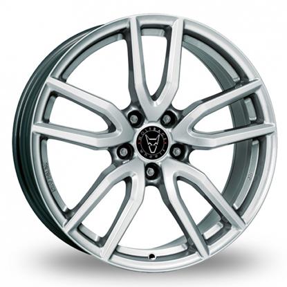 "18"" Wolfrace Torino Polar Silver Alloy Wheels"