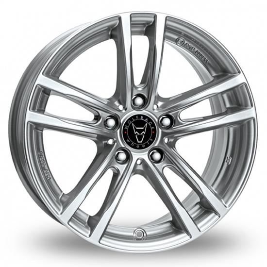 "18"" Wolfrace X10 Polar Silver Alloy Wheels"