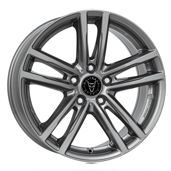"17"" Wolfrace X10 Gun Metal Alloy Wheels"