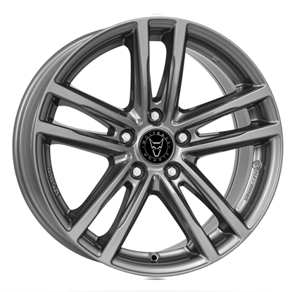 "16"" Wolfrace X10 Gun Metal Alloy Wheels"