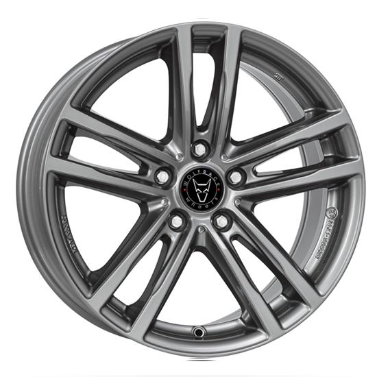 "16"" Wolfrace X10 Gun Metal Alloy Wheels"