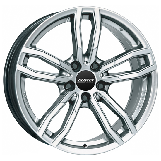 "17"" Alutec Drive Polar Silver Alloy Wheels"