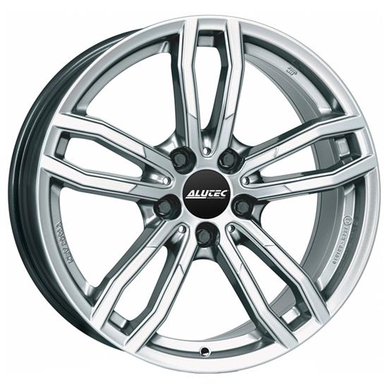 "18"" Alutec Drive Polar Silver Alloy Wheels"
