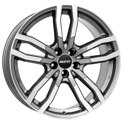 "21"" Alutec DriveX Metal Grey Polished Alloy Wheels"
