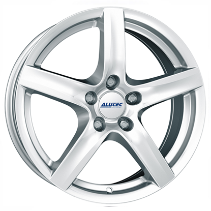 "14"" Alutec Grip Polar Silver Alloy Wheels"