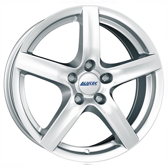 """17"""" Alutec Grip Polar Silver Alloy Wheels"""