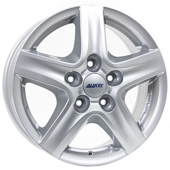 "16"" Alutec Grip Transporter Polar Silver Alloy Wheels"