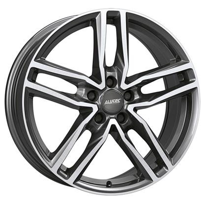 "16"" Alutec Ikenu Graphite Polished Alloy Wheels"