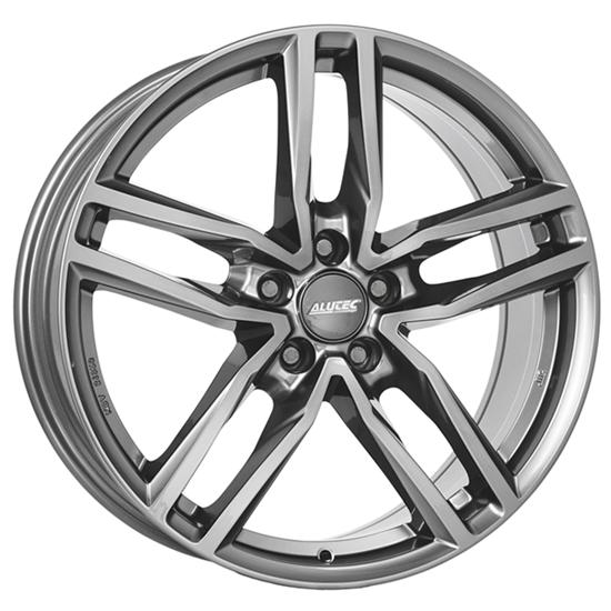 "17"" Alutec Ikenu Metal Grey Alloy Wheels"