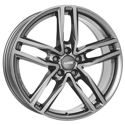 "18"" Alutec Ikenu Metal Grey Alloy Wheels"