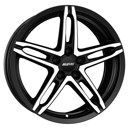 "18"" Alutec Poison Racing Black Alloy Wheels"