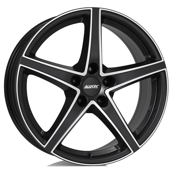 "18"" Alutec Raptr Racing Black Polished Alloy Wheels"