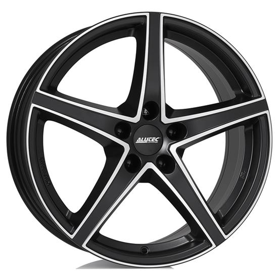 "20"" Alutec Raptr Racing Black Polished Alloy Wheels"