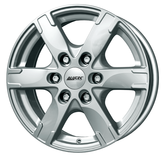 "16"" Alutec Titan Polar Silver Alloy Wheels"