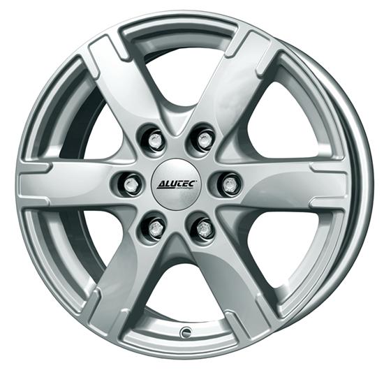 """17"""" Alutec Titan Polar Silver Alloy Wheels"""