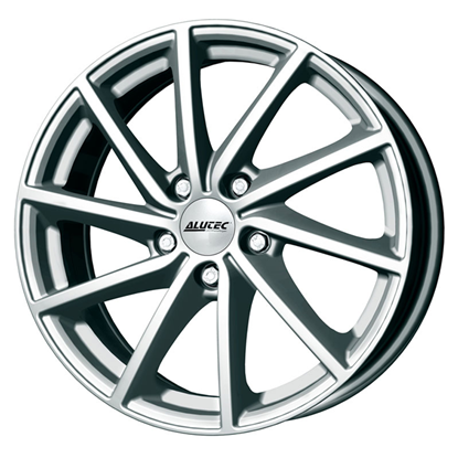 "17"" Alutec Singa Polar Silver Alloy Wheels"