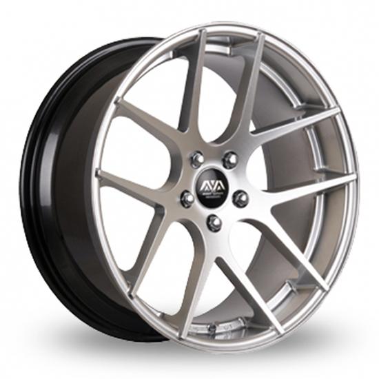 "19"" AVA Memphis Hyper Silver Alloy Wheels"
