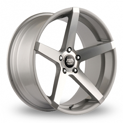 "20"" AVA Miami Hyper Silver Alloy Wheels"