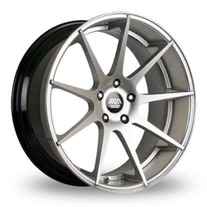 """18"""" AVA San Diego Hyper Silver Alloy Wheels"""