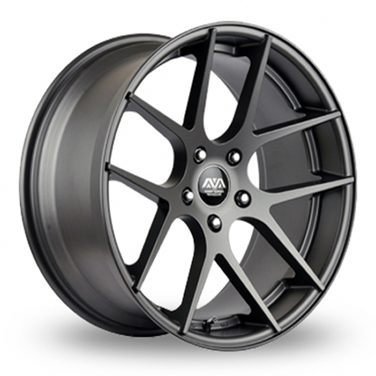 "19"" AVA Memphis Gun Metal Alloy Wheels"