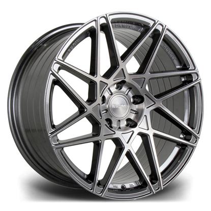 "19"" Riviera RF2 Hubolt Carbon Grigio Alloy Wheels"