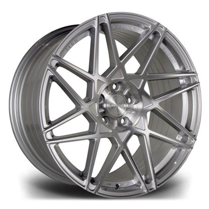 "19"" Riviera RF2 Hubolt Platinum Brushed Alloy Wheels"