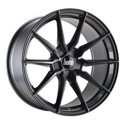 "19"" Bola B16 Gloss Gunmetal  Alloy Wheels"