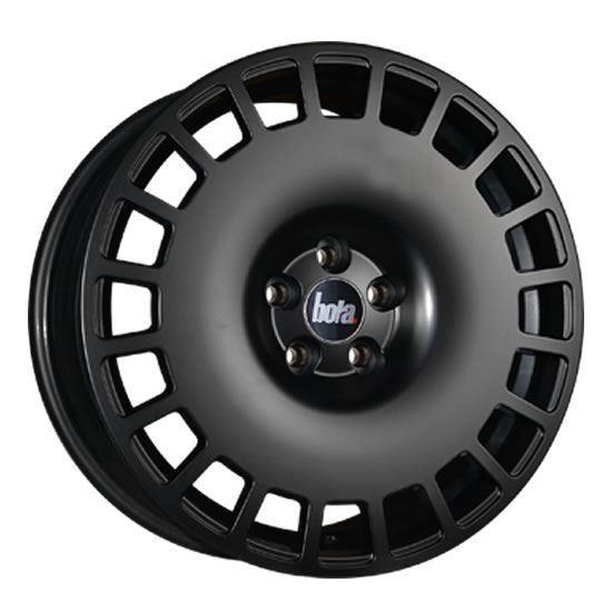 "18"" Bola B12 Matt Black Alloy Wheels"