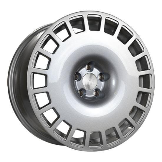 """18"""" Bola B12 Silver Alloy Wheels"""