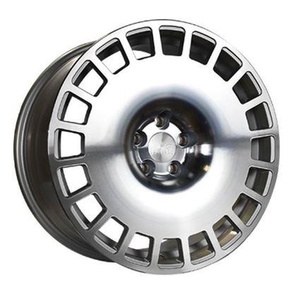 """18"""" Bola B12 Silver Polished Alloy Wheels"""