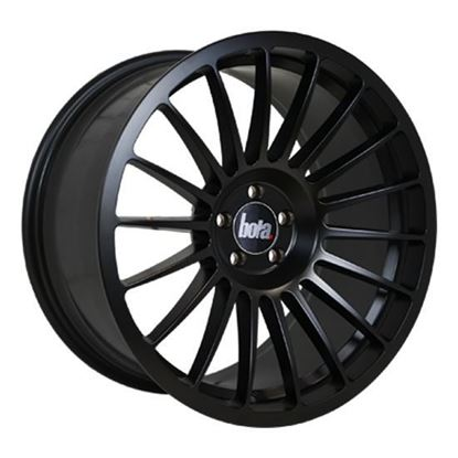 "18"" Bola B14 Matt Black Alloy Wheels"