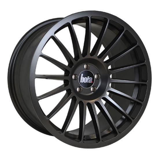 "18"" Bola B14 Matt Gun Metal Alloy Wheels"