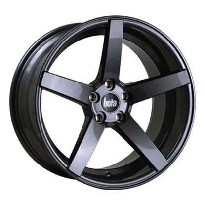 "18"" Bola B2 Gun Metal Alloy Wheels"