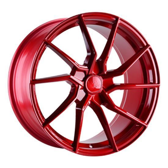 "18"" Bola B25 Candy Red Alloy Wheels"