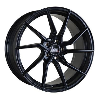 "18"" Bola B25 Matt Black Alloy Wheels"