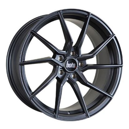 "18"" Bola B25 Matt Gun Metal Alloy Wheels"