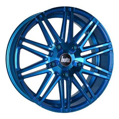 "20"" Bola B20 Hyper Blue Alloy Wheels"