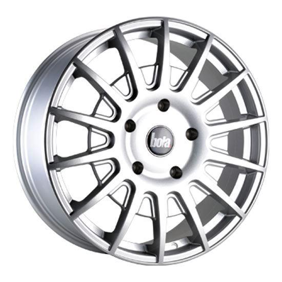 """20"""" Bola B21 Silver Alloy Wheels"""