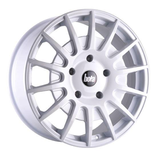 "20"" Bola B21 White Alloy Wheels"