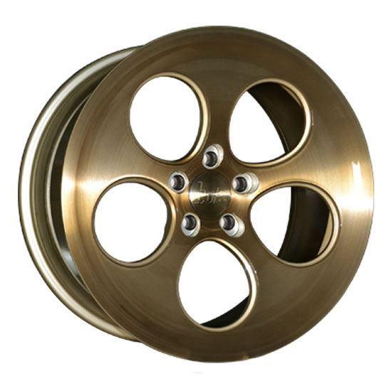 """18"""" Bola B5 Bronze Brushed Alloy Wheels"""