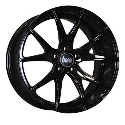 "18"" Bola B6 Gloss Black Alloy Wheels"