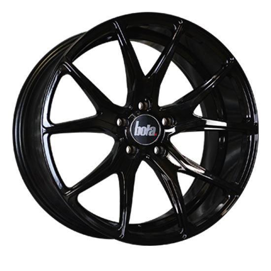 "18"" Bola B6 Gloss Black Alloy Wheels"