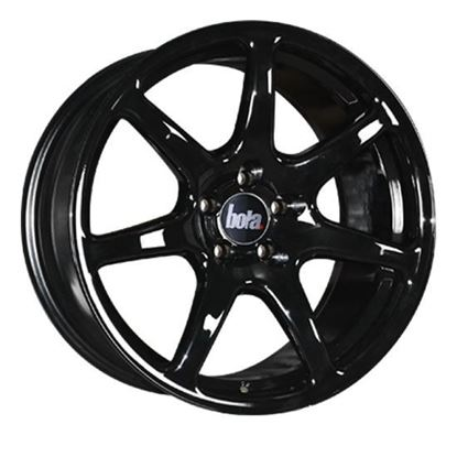 "17"" Bola B7 Gloss Black Alloy Wheels"